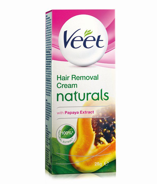 Veet Naturals Hair Removal Cream