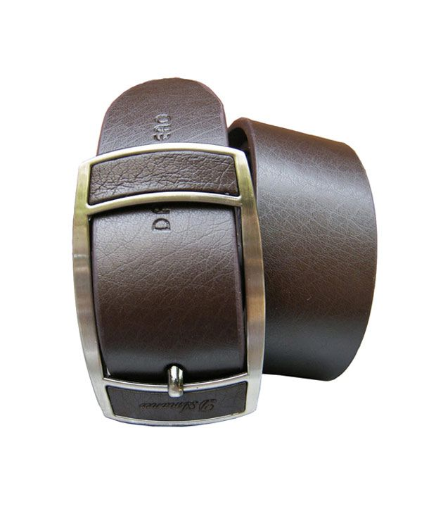 Winsome Deal Brown stylish Non Leather belt at good price