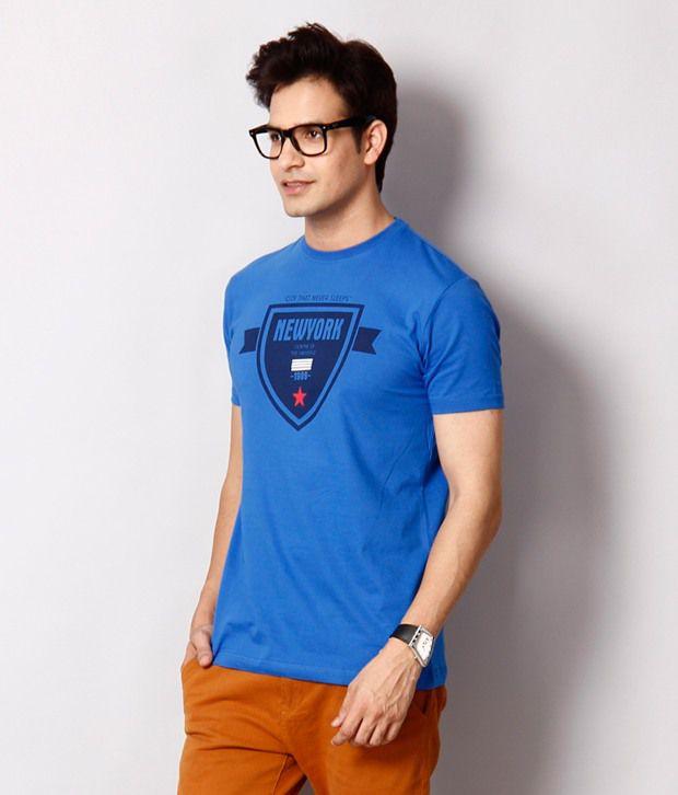 Locomotive Classic Blue T Shirt