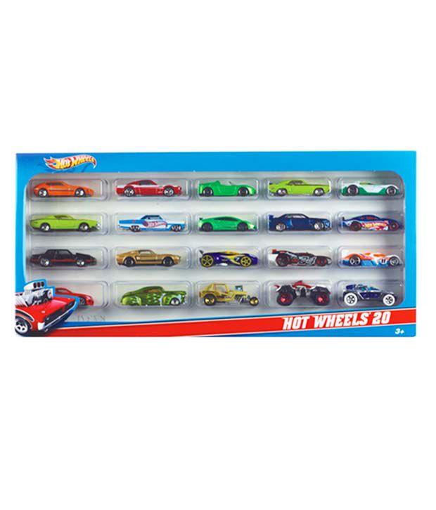 hot wheels 20 cars gift set buy hot wheels 20 cars gift set online rh snapdeal com