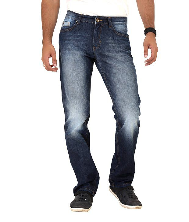 Euro Jeans Basic Blue Jeans For Men
