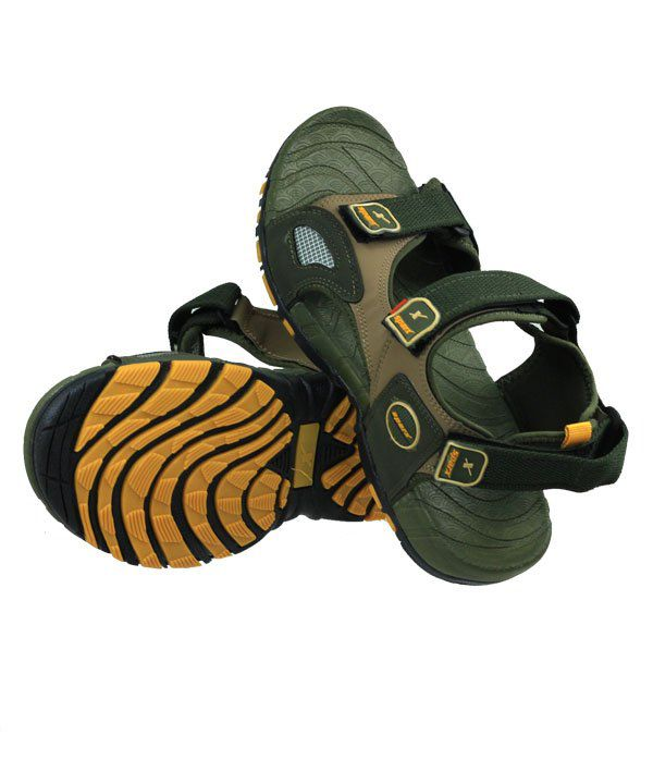 73ace926b8319e Sparx Yellow   Green Colour Mens Sandals - Buy Sparx Yellow   Green ...