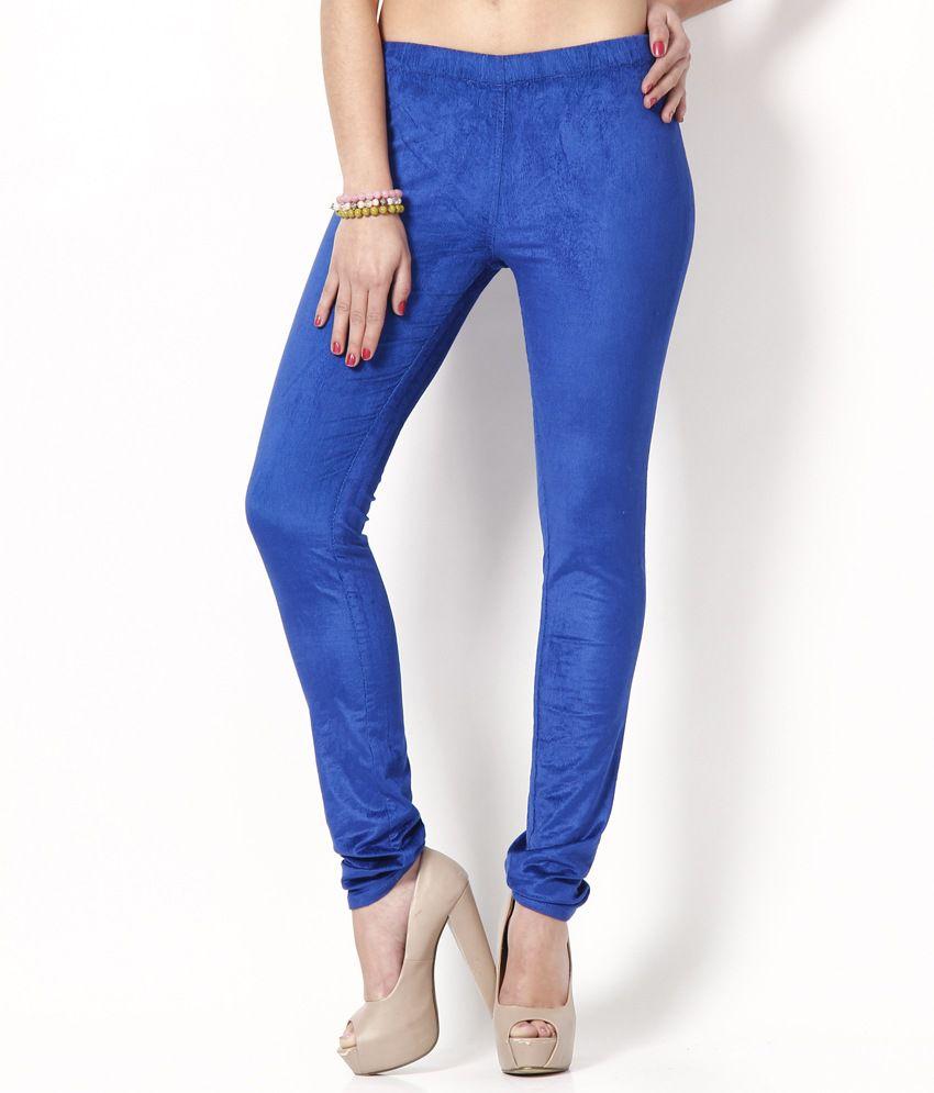 Fashion Cult Blue Corduroy Jeggings
