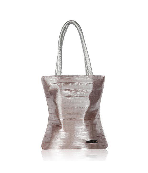 Kosha Silver Ladies Party Bag