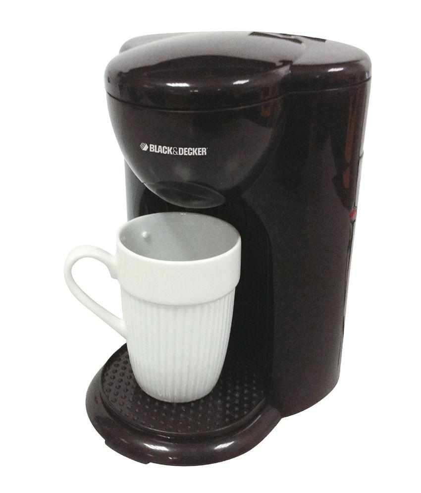 Drip Coffee Maker Recommendations : Black & Decker DCM25-B5 1 Cup Drip Coffee Maker - Buy Online Black & Decker DCM25-B5 1 Cup Drip ...
