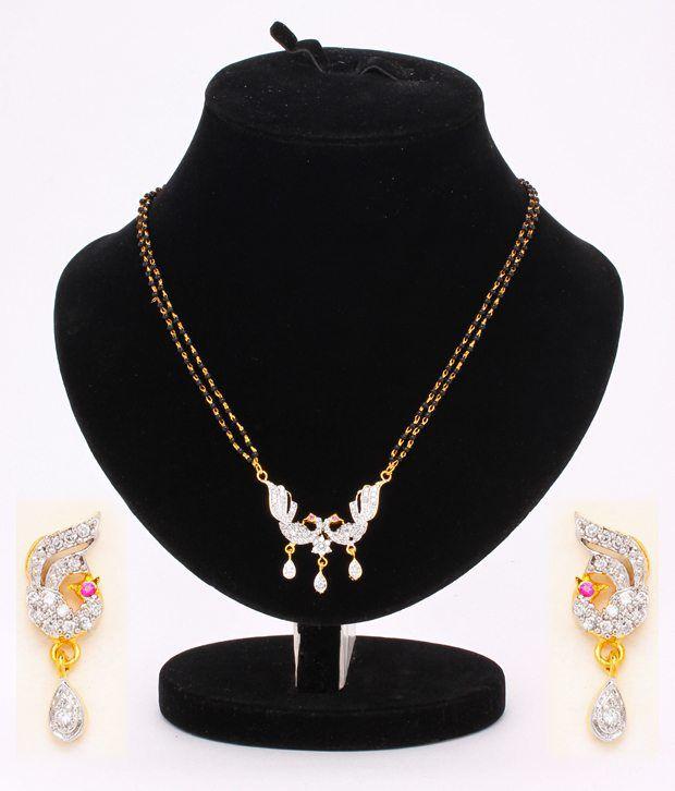Ethnic Jewels Contemporary Mangalsutra