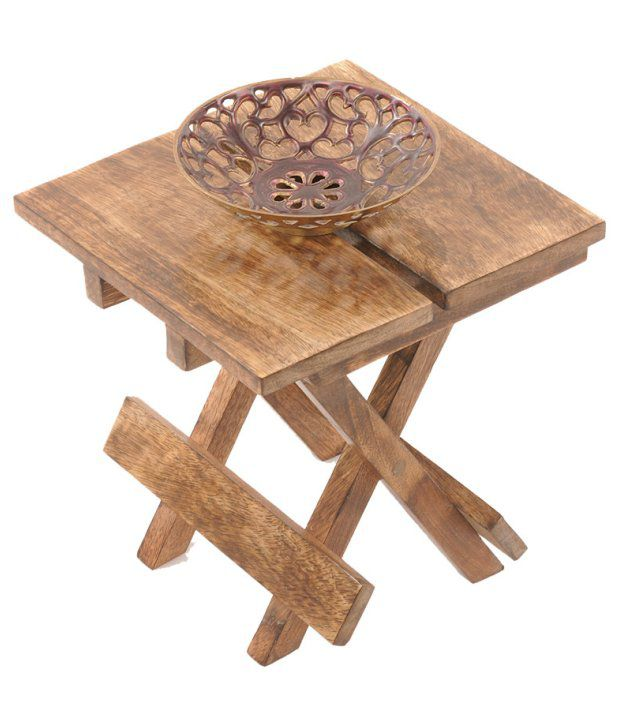Pindia Easy Folding Small End Table
