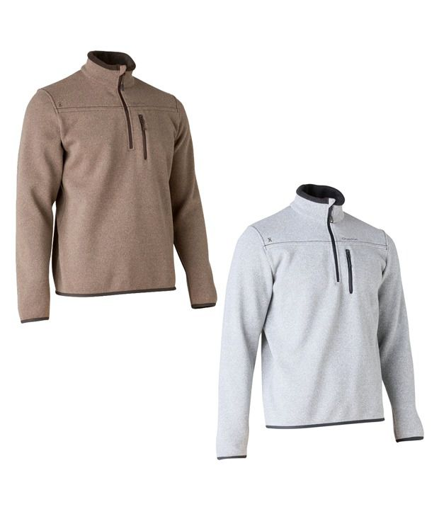 Quechua ARPENAZ 300 PULLOVER Hiking WARM WEAR 8194953