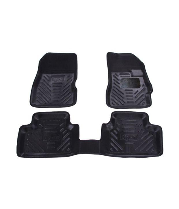 Digifit-Car Floor Mats Black For Honda City 2014: Buy