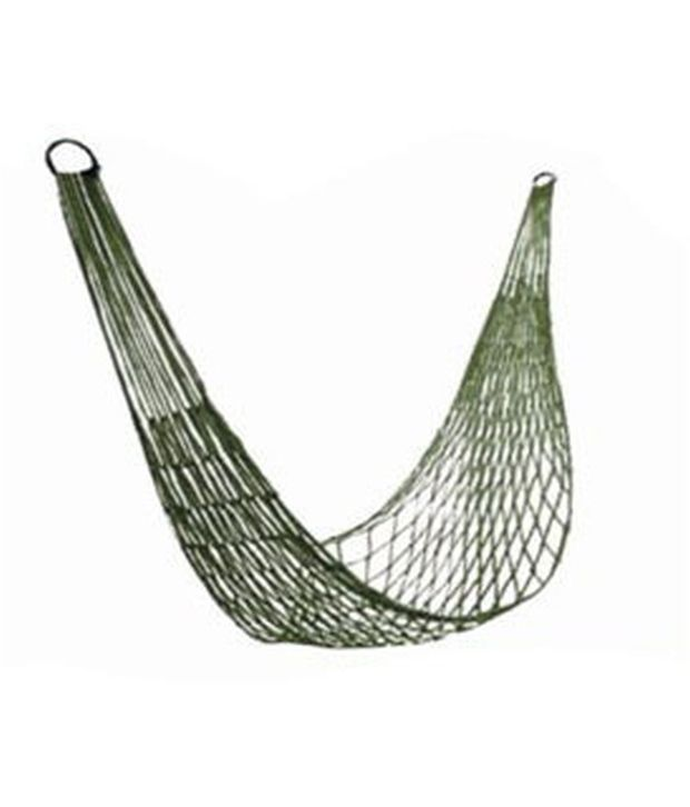 everything imported army green mesh nylon rope hammock     everything imported army green mesh nylon rope hammock   buy      rh   snapdeal