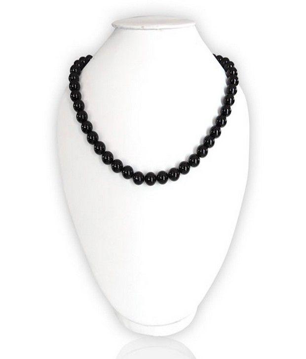 Pearlz Ocean Black Agate Necklace