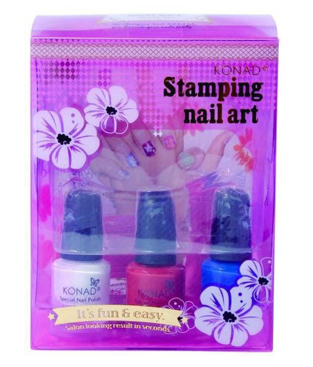 Konad Stamping Nail Art Kit Stone Set Buy Konad Stamping Nail Art