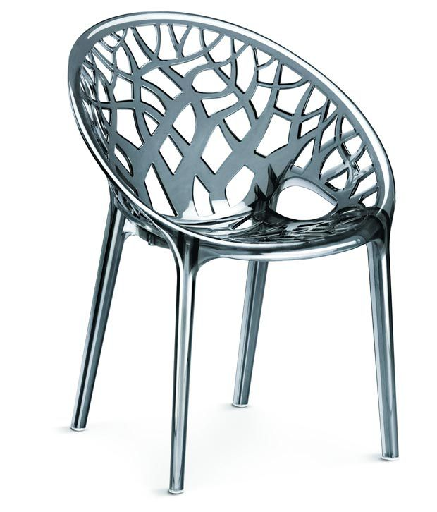 Nilkamal Vap Chair Crystal Pc Dream Grey Polycarbonate Buy Nilkamal Vap Chair Crystal Pc