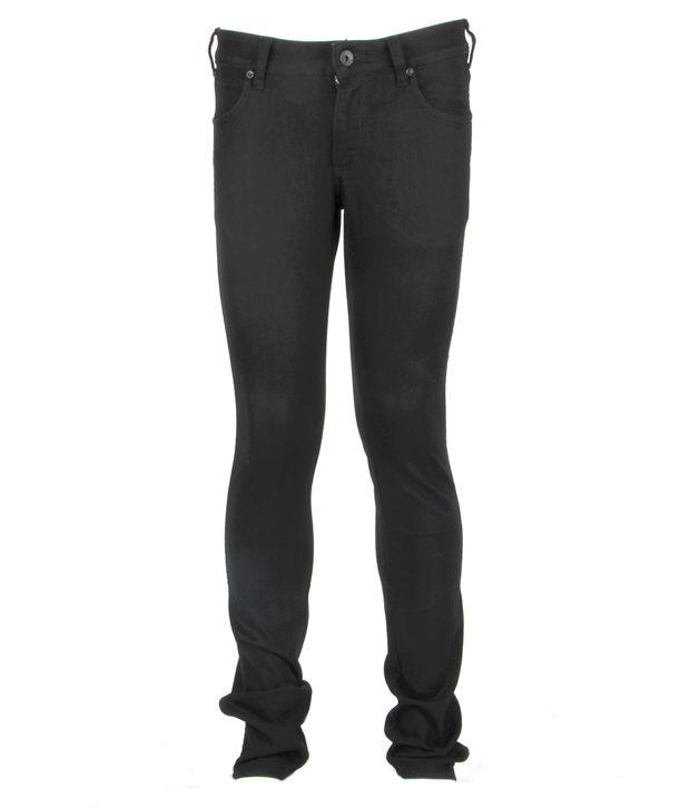 Wrangler Black Basic Jeans
