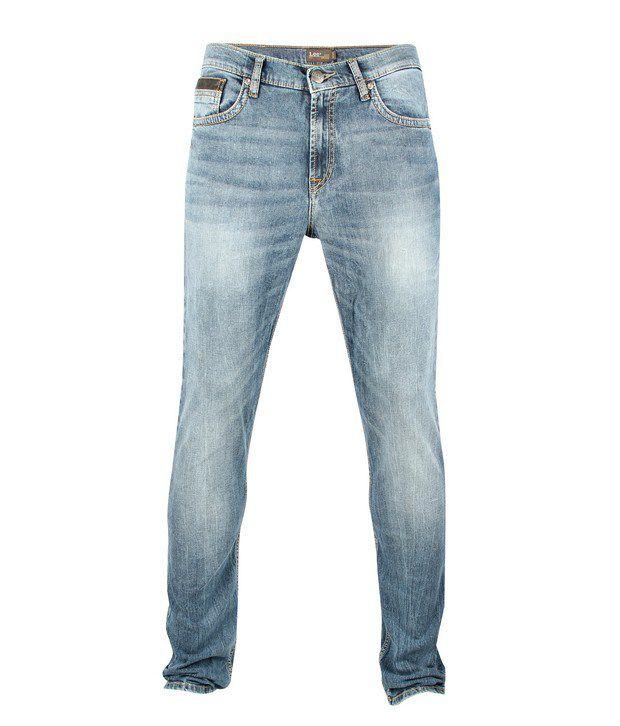 Lee Cooper Originals Light Blue Faded Jeans