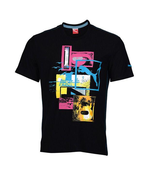 Puma Classic Black T Shirt