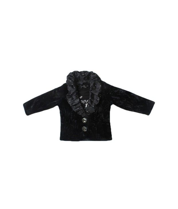 Actuel Black Coat For Kids