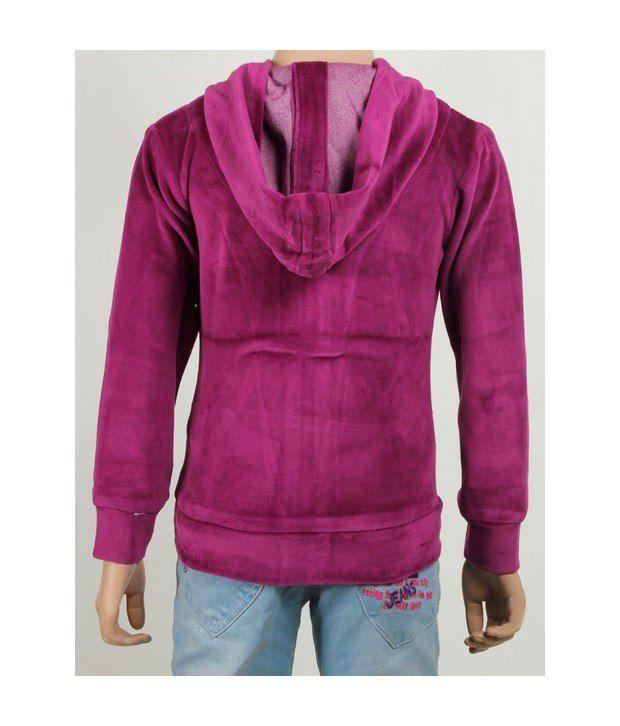 Purple Nasty Falsa Sweatshirt For Kids