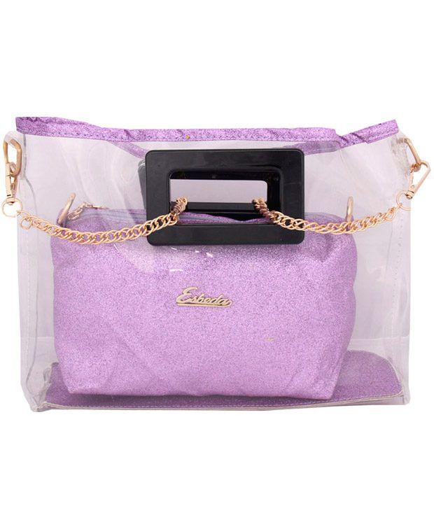 Esbeda 3885-Purple Sling Bag