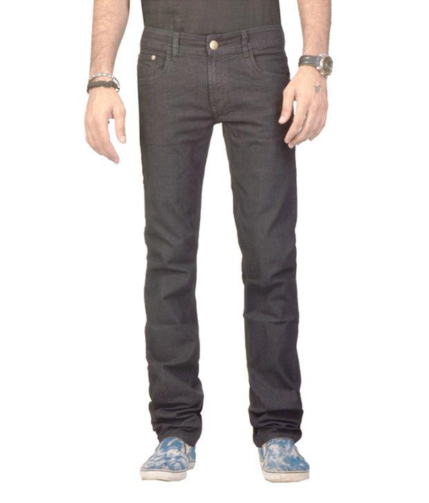Fungus Brown Comfort Fit Denim Jeans