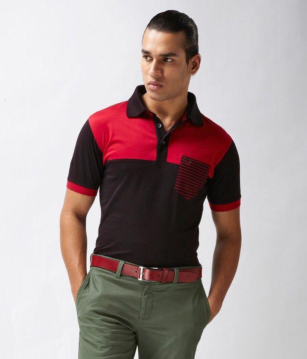 Proline Dark Brown Polo T Shirt