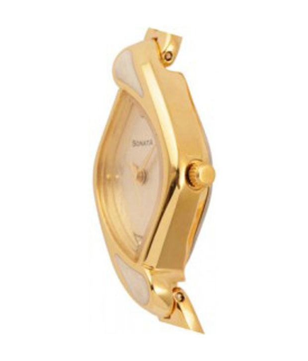 a3fbca07 Sonata 8073YM01 Women's Watch Price in India: Buy Sonata 8073YM01 ...