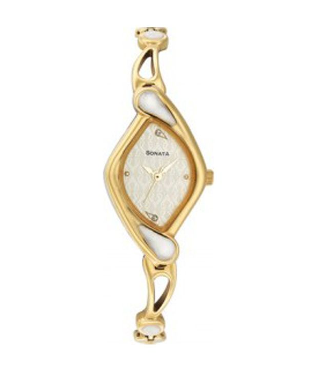 f5b852ea Sonata 8073YM01 Women's Watch Price in India: Buy Sonata 8073YM01 Women's  Watch Online at Snapdeal