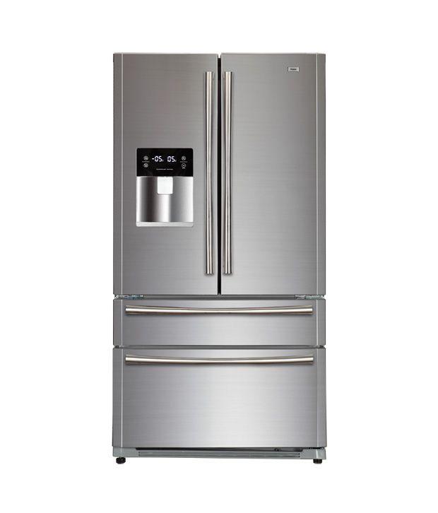 haier 629 ltr hrf708ff ss side by side refrigerator. Black Bedroom Furniture Sets. Home Design Ideas