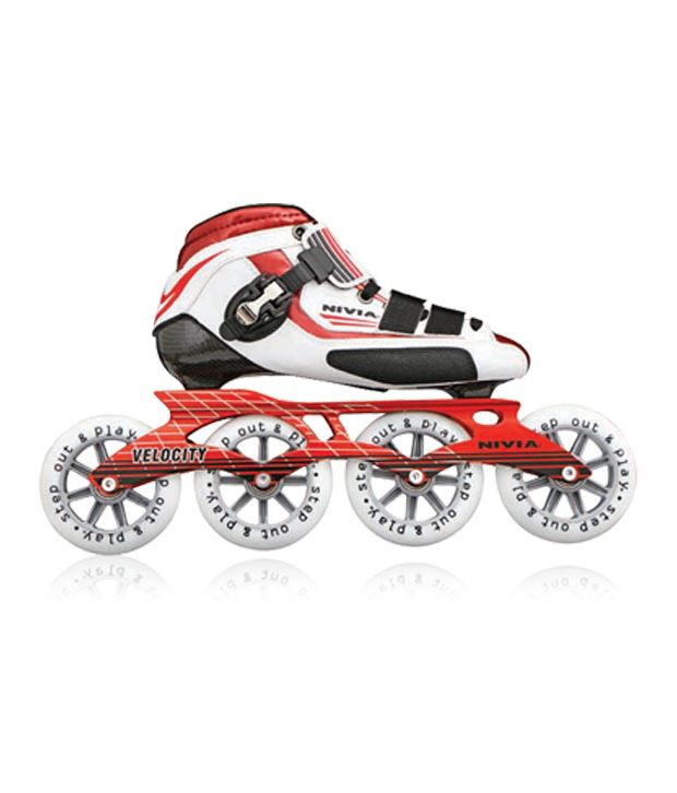 Nivia Velocity Inline Skate (158A)-8 (803-8): Buy Online at