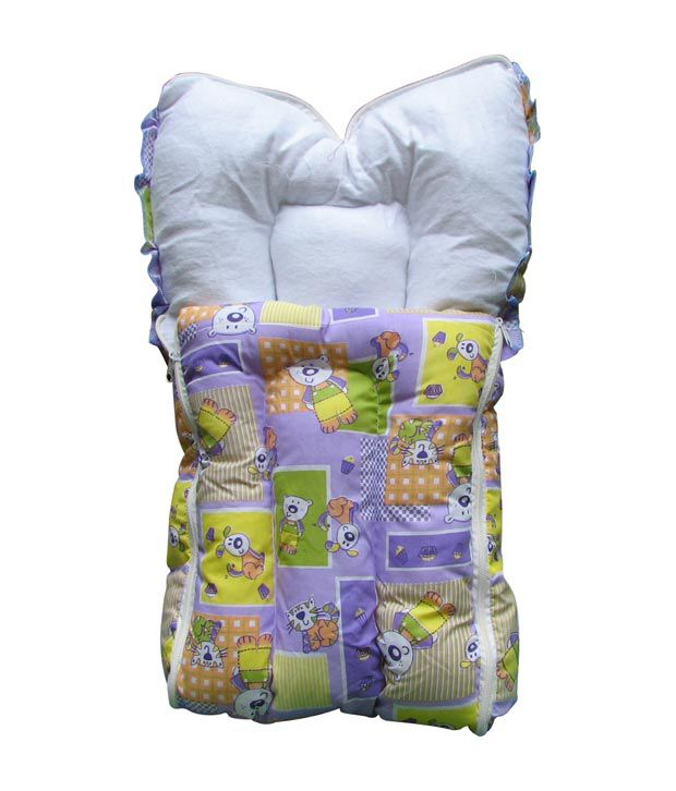 Lil Snoopy Purple & White Baby Sleeping Bag