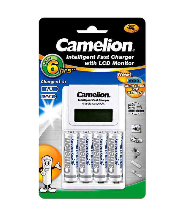 Camelion Bc1012 4 2100ar White Battery Charger Price In