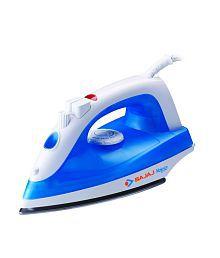Bajaj Majesty MX 20 Steam Iron White and Blue