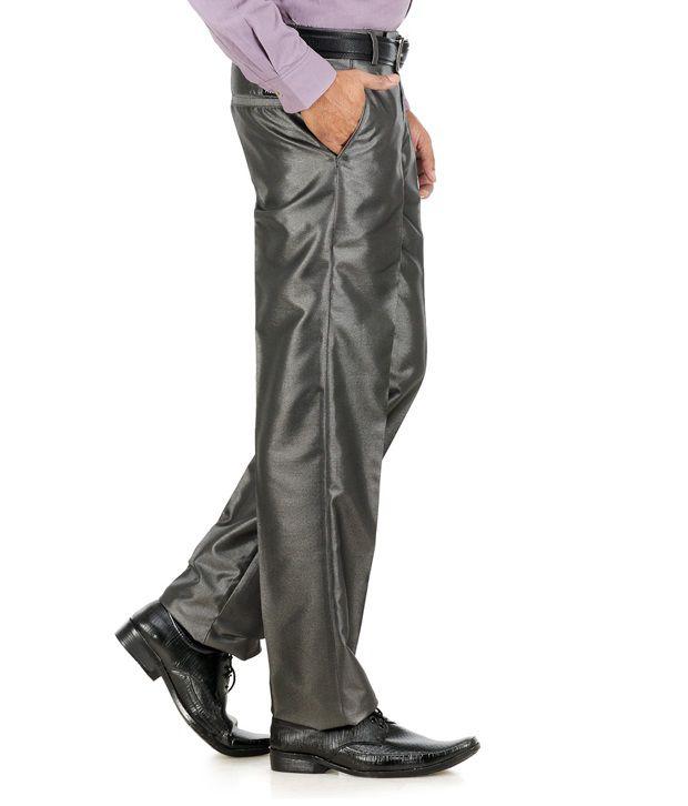 Praado Grey Trousers