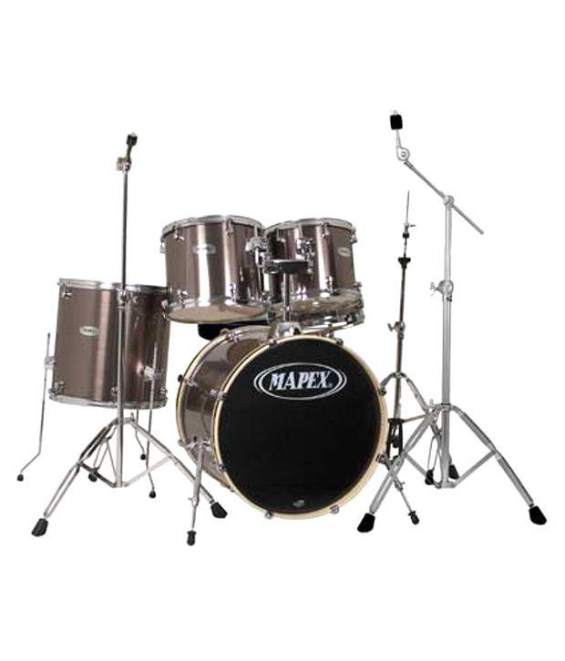 Mapex Voyager Drum Set Gray Steel Buy Mapex Voyager Drum Set