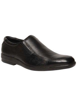 Bata Comfit Black Leather Formal Shoes