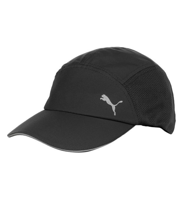 8e4bbf9c1a0 Puma Black Running Cap - Buy Online   Rs.