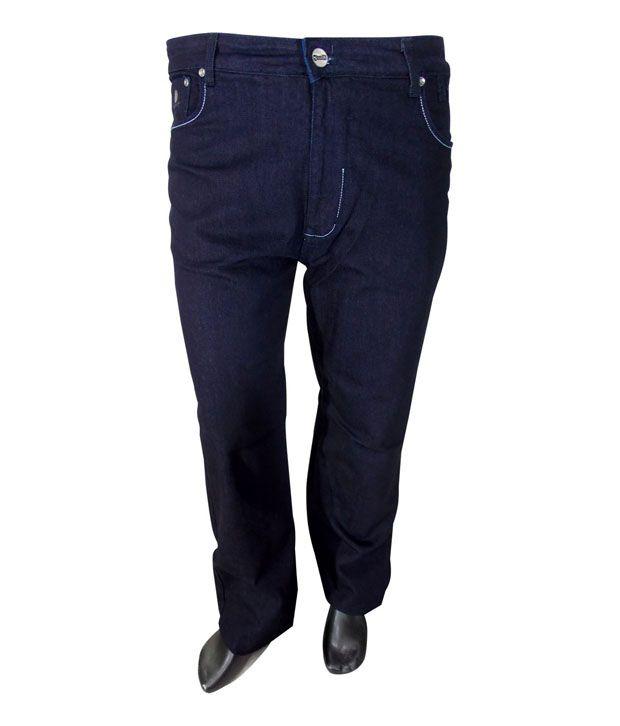Xmex Carbon Blue Cotton Lycra Jeans