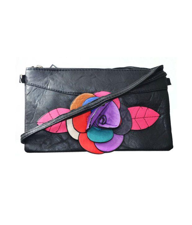 JGShoppe Black Sling Bags