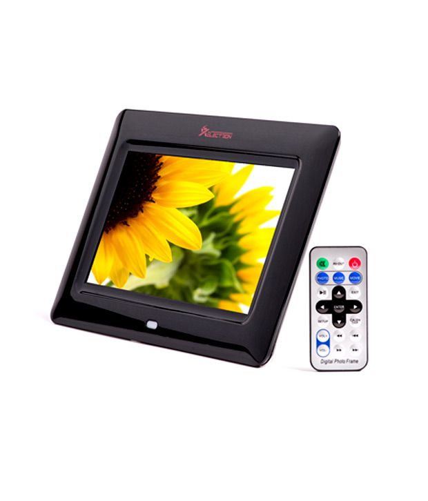 XElectron 7 inch Digital Photo Frame with Remote (Black)