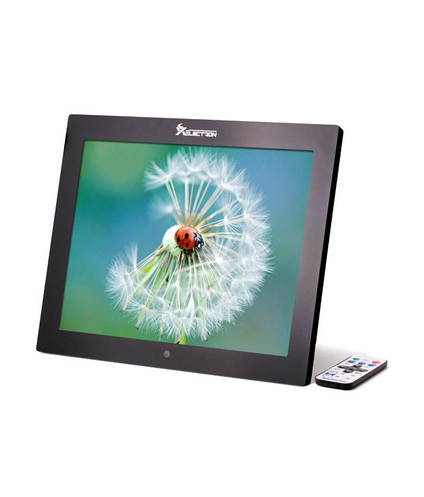 XElectron 15 inch Digital Photo Frame with Remote (Black)