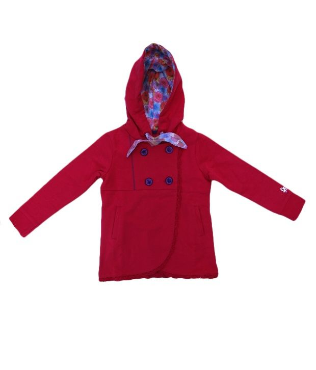 Quarter Spoon ROSE Hooded Sweatshirts - Full Sleeve