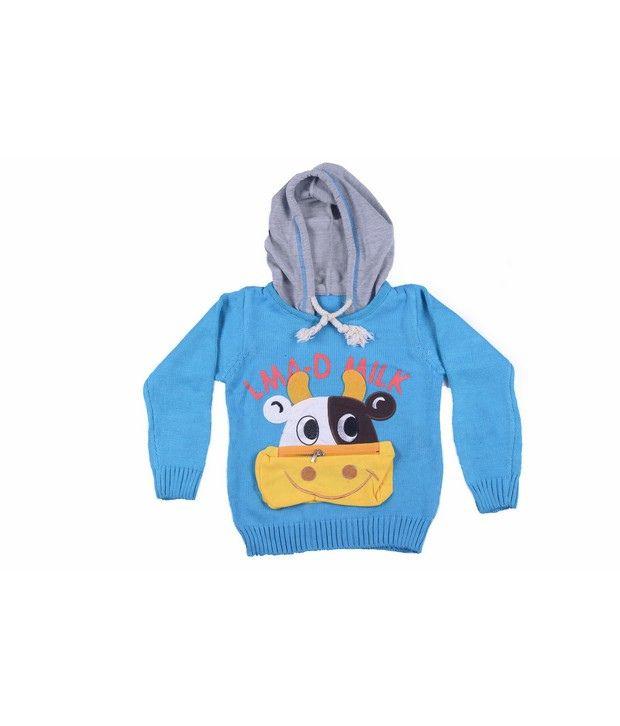 Jonez Blue Jacket For Boys