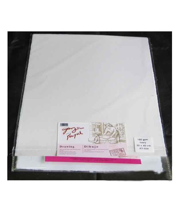 Garzapapel Drawing Paper Buy Online At Best Price In