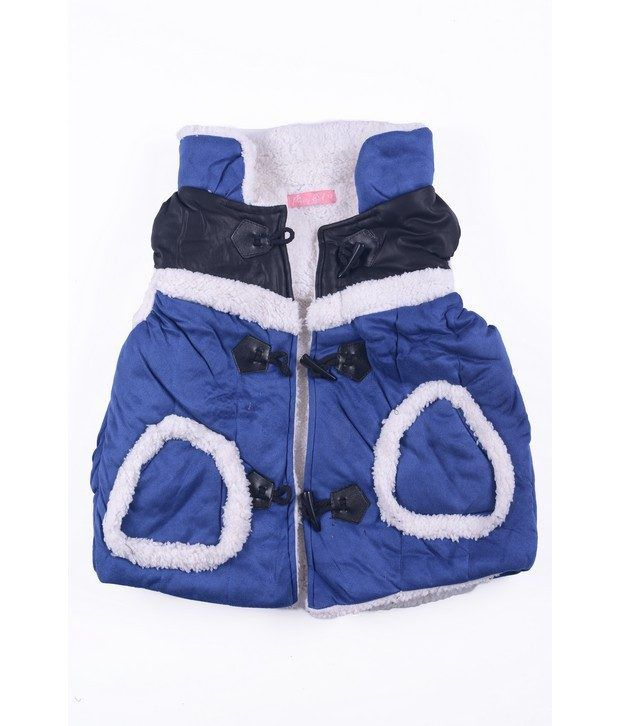 Isabelle Royal Blue Jacket For Girls