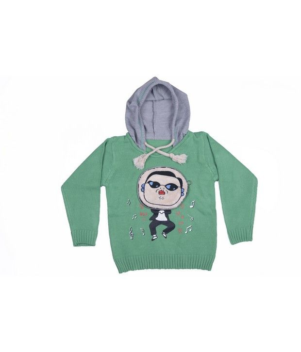 Jonez Green Jacket For Boys