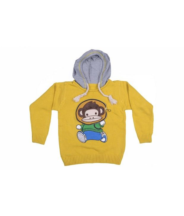 Jonez Yellow Jacket For Boys