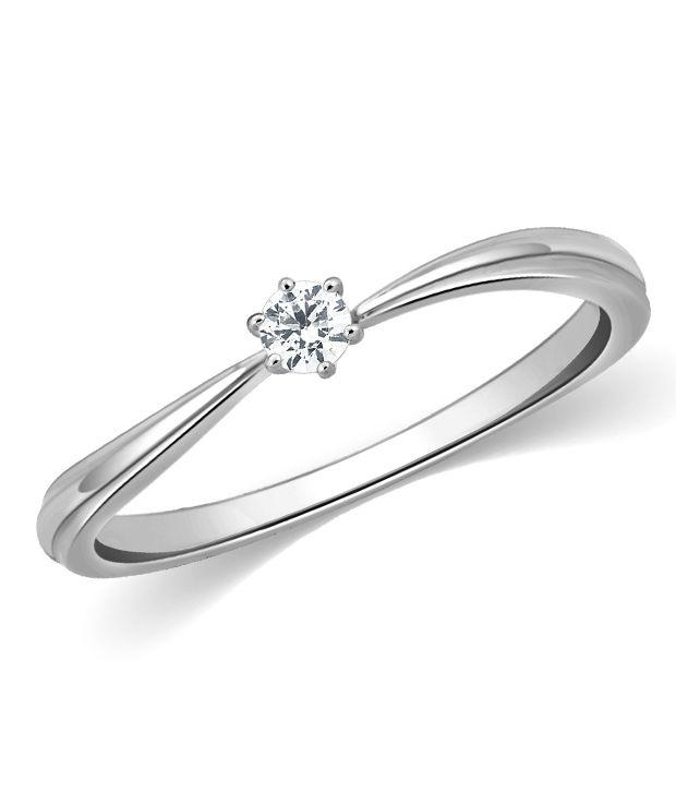 KAMA Jewellery 18Kt 0.1 Cts. VS/SI Diamond Kacy Ring