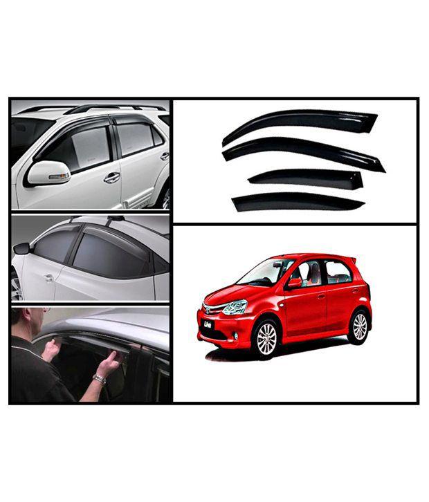 flomaster toyota etios liva rain and sun protection car ventvisors interior protectors cum. Black Bedroom Furniture Sets. Home Design Ideas