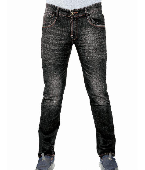 Uber Urban Stylish Black Jeans