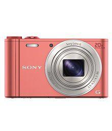 Sony Cybershot WX350 18.2MP Digital Camera (Pink)